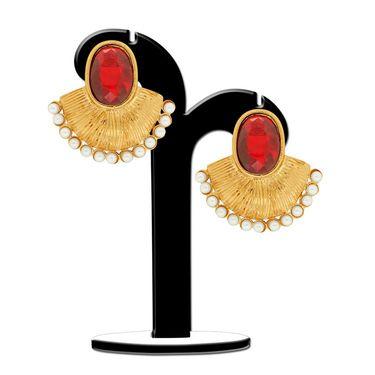 Spargz Brass Metal Earring_Aier366