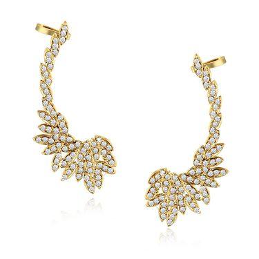 Spargz Brass Metal Earring_Aier409