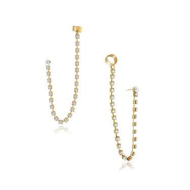 Spargz Brass Metal Earring_Aier428