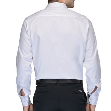 Being Fab Cotton Formal Shirt_Bfs13 - White