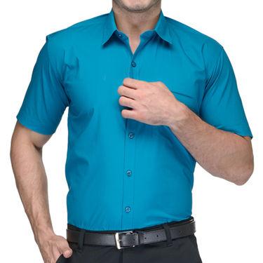 Being Fab Cotton Formal Shirt_Bfs22 - Blue
