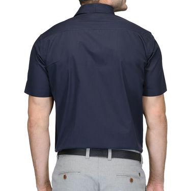 Being Fab Cotton Formal Shirt_Bfs23 - Navy Blue