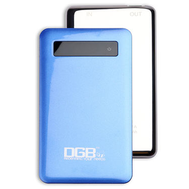 DGB Titanium PB 5000 mAh Power Bank 4000 mAh With Ultra Slim Touch - Blue