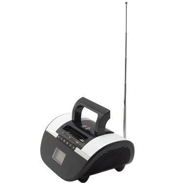 DGB Retro Portable Bluetooth Speakers (BM-114B) - Black-White