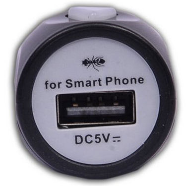 DGB Roker MY-02 2.1A USB Car Charger - Black