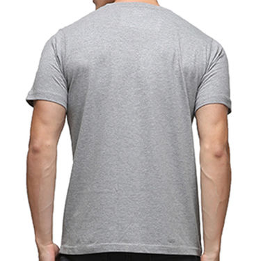 Effit Half Sleeves Round Neck Tshirt_Etscrn002 - Grey