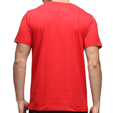 Effit Half Sleeves Round Neck Tshirt_Etscrn003 - Red