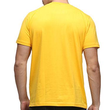 Effit Half Sleeves Round Neck Tshirt_Etscrnl006 - Yellow
