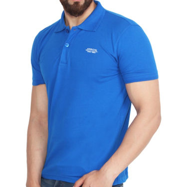 Branded Cotton Casual Tshirt_Arrow05 - Royal Blue
