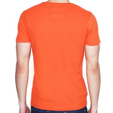 Branded Cotton Casual Tshirt_Sd05 - Orange