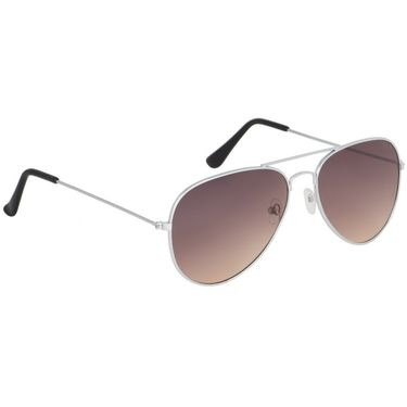 Alee Aviator Metal Unisex Sunglasses_Rs0210 - Brown