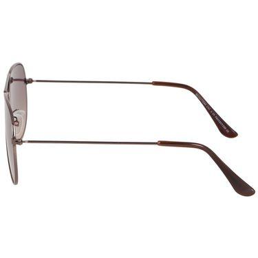 Alee Aviator Metal Unisex Sunglasses_Rs0215 - Brown