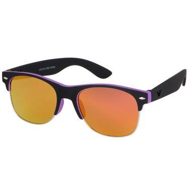 Alee Wayfare Plastic Unisex Sunglasses_Rs0227 - Orange