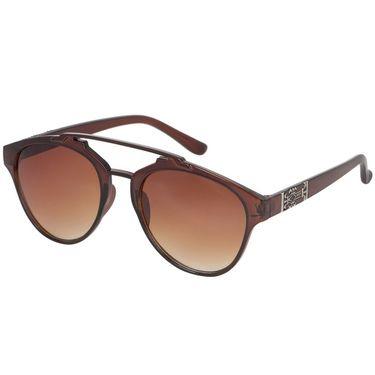 Alee Wayfare Plastic Unisex Sunglasses_Rs0233 - Brown