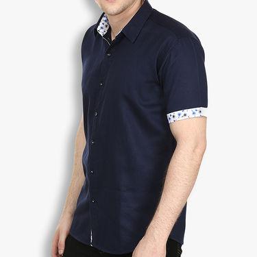 Pack of 2 Stylox Cotton Shirts_3134 - Navy & Black