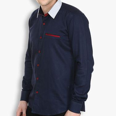 Stylox Cotton Shirt_nvyp027 - Navy