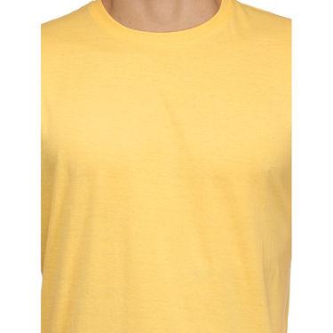 Rico Sordi 100% Cotton Tshirt For Men_Rnt016 - Yellow