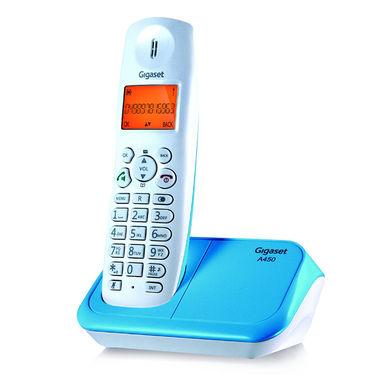Gigaset A450 White Blue Cordless Landline Phone