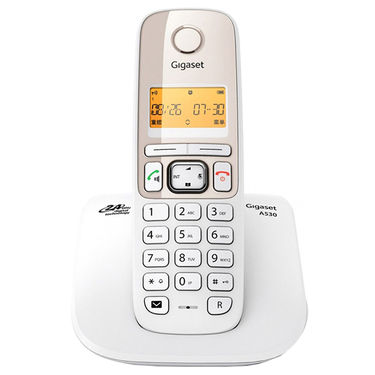 Gigaset A530 White Cordless Landline Phone