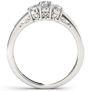 Kiara Swarovski Signity Sterling Silver Pradnya Ring_KIR1000