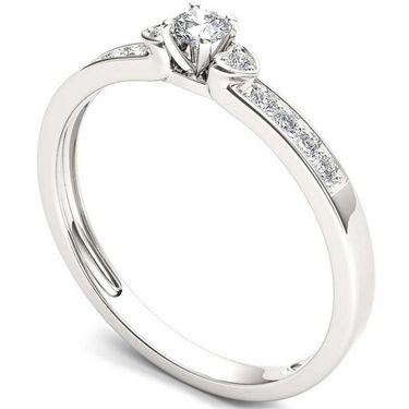 Kiara Swarovski Signity Sterling Silver Sonal Ring_KIR1050