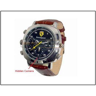 Spy 4Gb Water Proof Digital Wrist Watch Camera Code 074