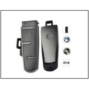 Spy Keychain Camera With Password Protection Code 077