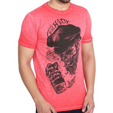 Branded Cotton Slim Fit Tshirt_Edhr08 - Red