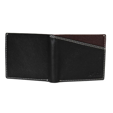 Spire Stylish Leather Wallet For Men_Smw115 - Black