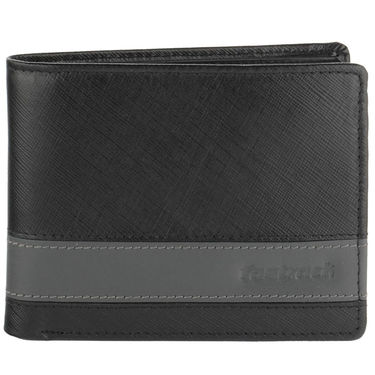 Fastrack Leather Wallets For Men_C0381lbk01 - Black
