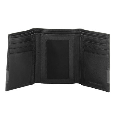 Fastrack Leather Wallets For Men_C0382lbk01 - Black