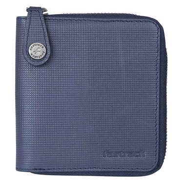 Fastrack Leather Wallets For Men_C0387lbl01 - Blue