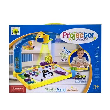 Big Size Innovative Learning Light Projector Painting Toy