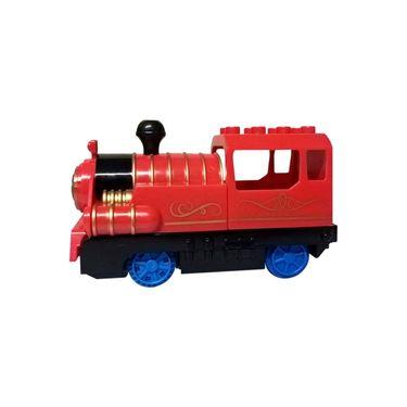 47 Pcs Big Size Train with Flashing Light and Music
