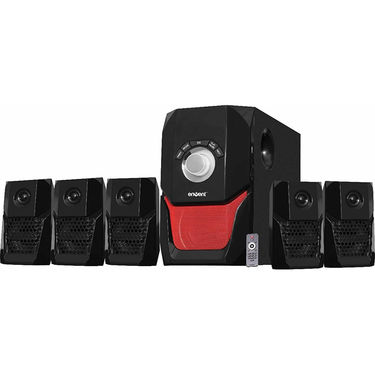 Envent Deejay 703 BT 5.1 Home Audio Speaker - Black