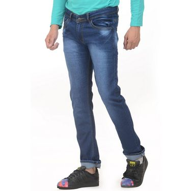 Forest Faded Slim Fit Denim Jeans_Jnfrt7 - Blue