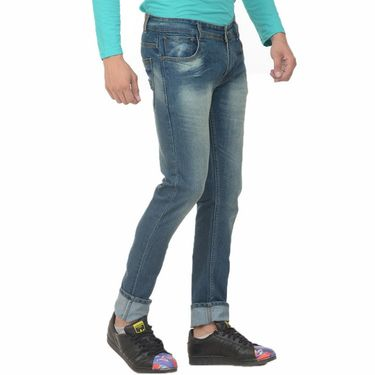 Forest Faded Slim Fit Denim Jeans_Jnfrt10 - Blue