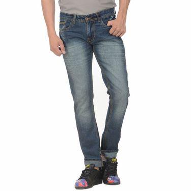 Pack of 2 Forest Plain Slim Fit Jeans_Jnfrt34 - Blue