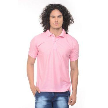 Pack of 2 Plain Regular Fit Tshirts_Ptgdgp - Green & Pink