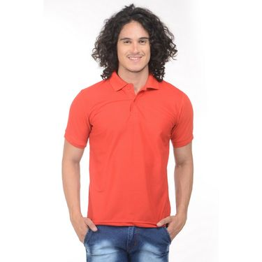 Pack of 2 Plain Regular Fit Tshirts_Ptgdmudr - Grey & Red
