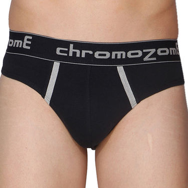 Pack of 3 Chromozome Regular Fit Briefs For Men_10065 - Multicolor