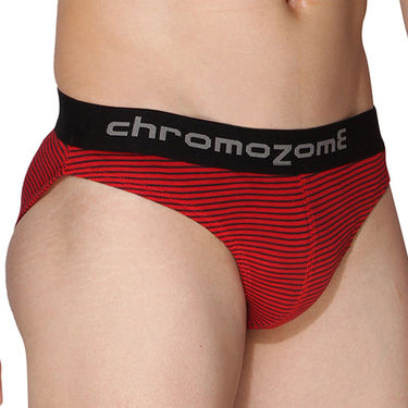 Pack of 3 Chromozome Regular Fit Briefs For Men_10134 - Multicolor