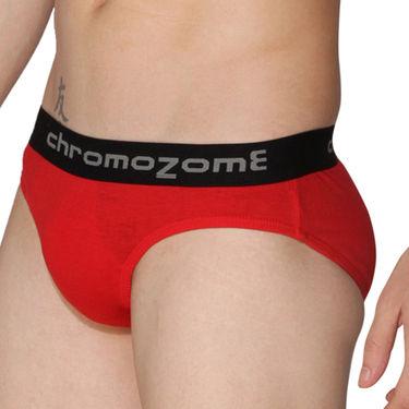 Pack of 3 Chromozome Regular Fit Briefs For Men_10159 - Multicolor