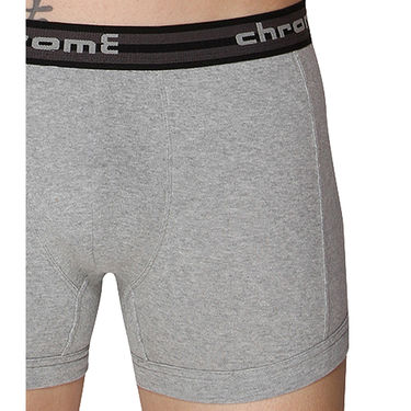 Pack of 3 Chromozome Regular Fit Trunks For Men_10370 - Multicolor