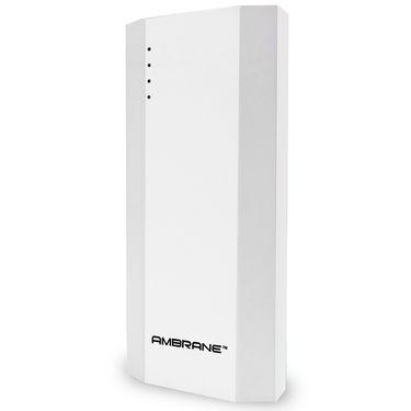 Ambrane Power Bank P-1111 (10000 mAh) Capacity - White