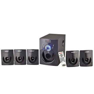 Envent DeeJay 702 BT Bluetooth 5.1 Multimedia Home Audio Speaker - Black