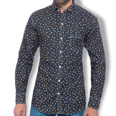 Branded Denim Cotton Shirt_Gkds10