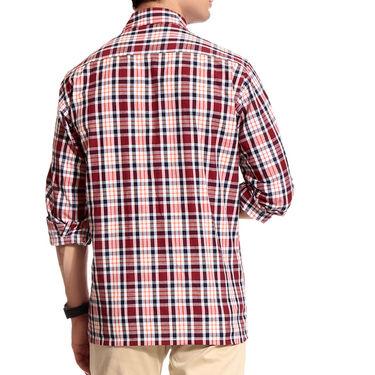 Good Karma Cotton Shirt_Hs5600 - Multicolor