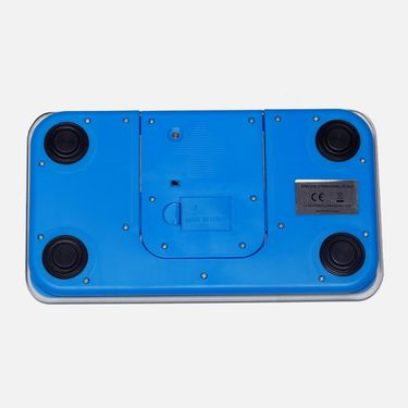 Portable Designer Weighing Scale with LCD Screen Blue-P