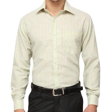 Copperline 100% Cotton Shirt For Men_CPL1185 - Yellow